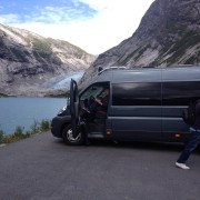 Activities-Guiding-Visit Skjolden-buss og bre